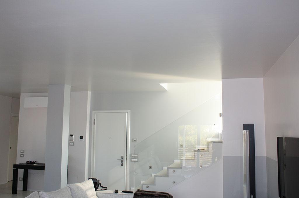 parete effetto rasato