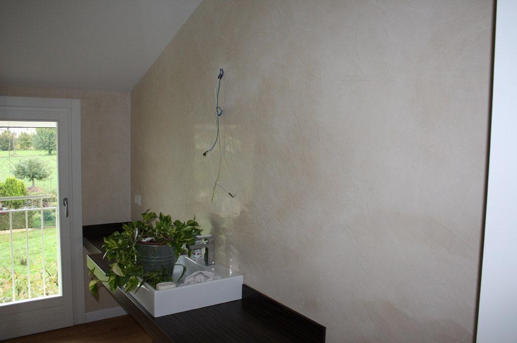 parete a marmorino
